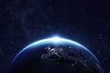 Fototapety Planet earth. Some elements of this image furnished by NASA