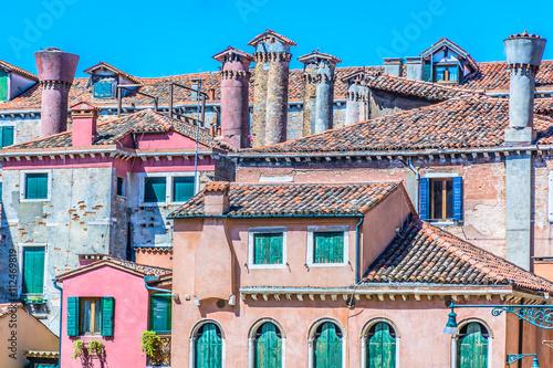 Poster Mediterranean architecture Italy Europe