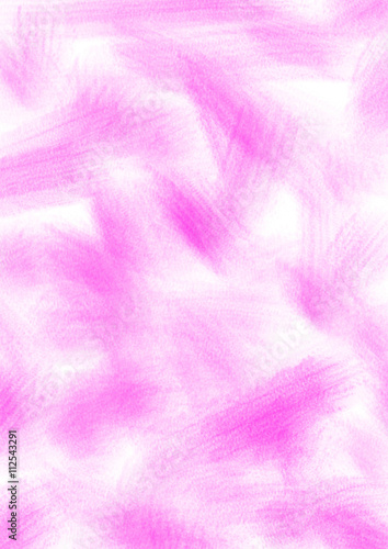 Staande foto Abstract wave Abstract drawn textured background with brushstrokes in pink colors. A4 size format. Series of Watercolor, Oil, Pastel and Inc Backgrounds.