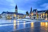 Union square in Oradea, Romania