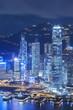 Modern Skyscraper in Hong Kong city