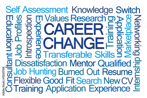 Career Change Word Cloud