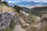 Руины древних Микен. Греция.