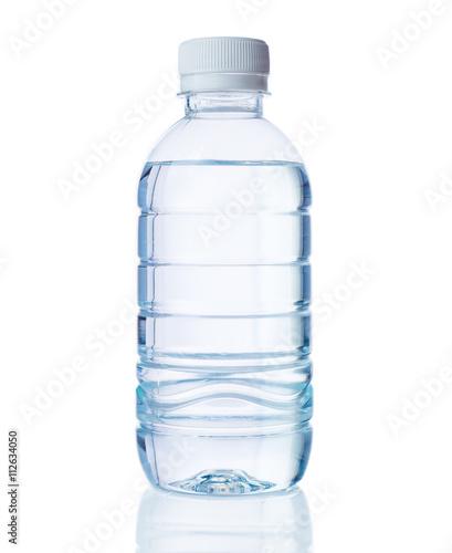 Foto Murales plastic bottle of clear water