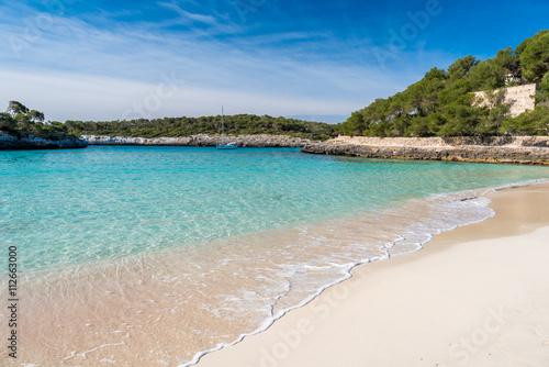 Fotobehang Overige Cala Mondrago - beautiful beach and coast of Mallorca