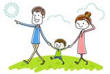 イラスト素材:親子 散歩 37804305,DELETED 96727816,다양한 야채