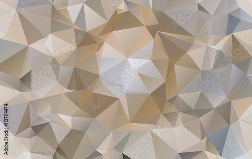 Vector Abstract Design Hexagonal Background polygonal style © prathum