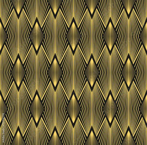 Naklejka Abstract geometric background.Art Deco.