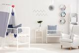 Baby room with good seaside atmosphere
