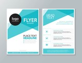 business brochure, flyer ,report Layout design template, and cover design