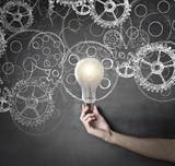 gears and innovative ideas