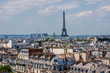 Panorama of Paris on the Sunset. France.