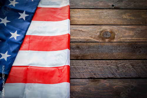 Poster American Flag for Memorial Day or 4th of July - Background