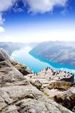Fototapety Preikestolen Lysefjord