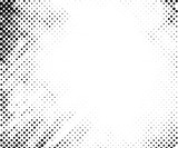 Halftone pattern vector - 112825291