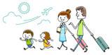 イラスト素材:家族 旅行 97867863,Inflation,CrazyCloud,200731559,2,276,1,0,inflation