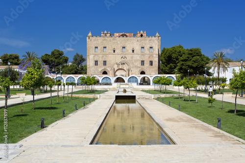 Plexiglas Palermo The Zisa Castle in Palermo, Sicily. Italy