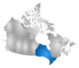 Map - Canada, Ontario