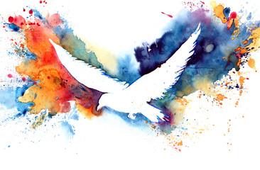 silhouette of  bird © okalinichenko