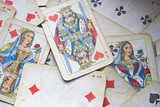 Playing card,  card games. background