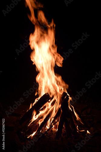 Leinwandbild Motiv Feuer