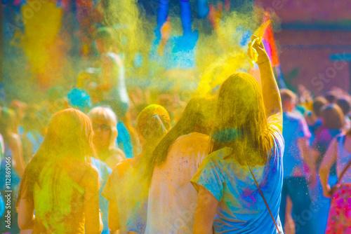 Zdjęcia na płótnie, fototapety, obrazy : Holy color festive in Saint Petersburg