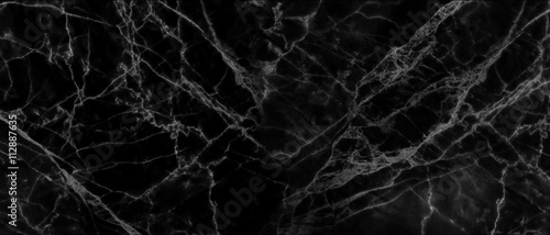 The luxury of black marble background. - 112887635