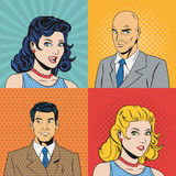 Fototapety People design. Pop art icon. Retro and Colorfull illustration