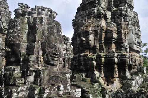 Poster, Tablou Bayon Temple, Angkor Cambodia