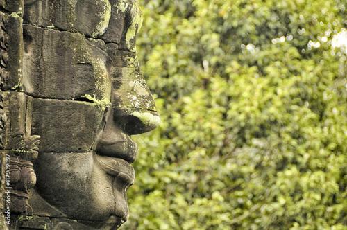 Plakat Bayon Temple, Angkor Cambodia
