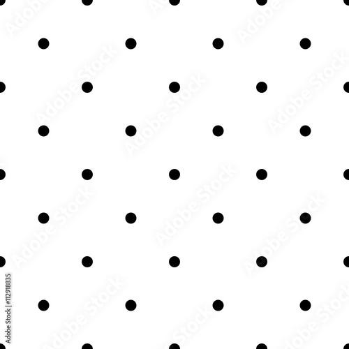 Seamless polka dot pattern - 112918835