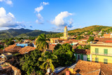 Fototapety Blick über Trinidad