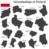 Fototapety country Poland and voivodeships