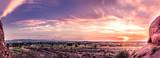 Beautiful colorful sunset over Phoenix,Az,USA