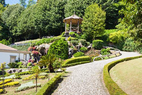 Zdjęcia na płótnie, fototapety, obrazy : Garden at Bom Jesus