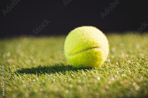 Plakat Close up of tennis ball
