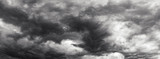 Fototapety Storm cloud sky panorame, day time