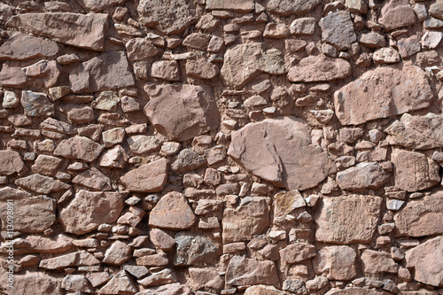 obraz PCV Natural stone wall