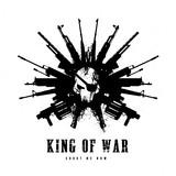 Fototapety king of war, Gun and skull logo template.