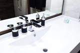 washbasin and faucet at home
