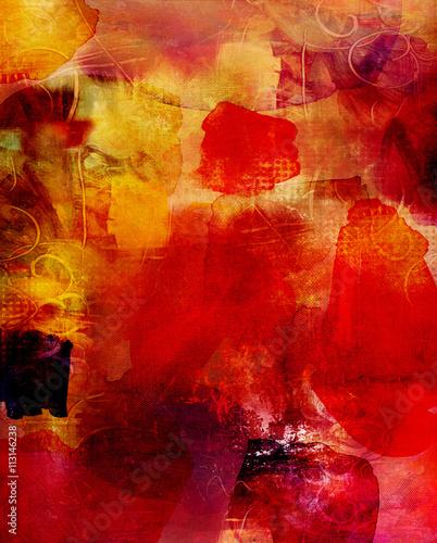 Fototapeta malerei graphik texturen dekorativ