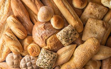 texture di pane bianco orizzontale