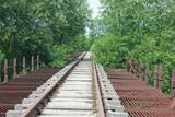 Железнодорожный заброшенный мост