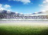 Football stadium background - 113195253