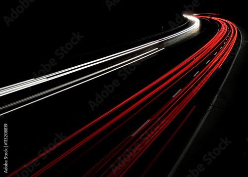 Poster Night traffic