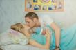 married couple, childbirth, newborn