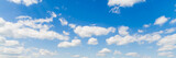 Fototapety blue sky with cloud closeup