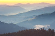 One minute before sunrise, Mountains Landscape