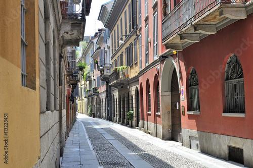Milano, Italia, quartiere di Brera antiche vie