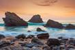 Ocean Landscape at beautiful Sundown